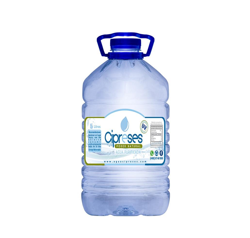 Botella Desechable 5 litros